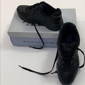 Rockport Walking 71/2 M black walking comfort shoe